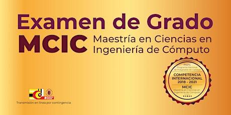 CIC-IPN: Examen de Grado  Mercado Velázquez Andrés Aharel MCIC entradas