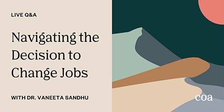 Live Q&A: Navigating the Decision to Change Jobs tickets