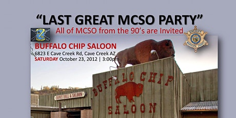 The Last Great MCSO Party tickets