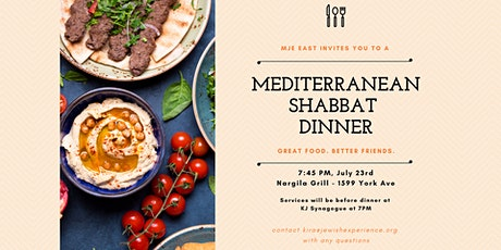 East Side Shabbat Dinner on July 23 tickets