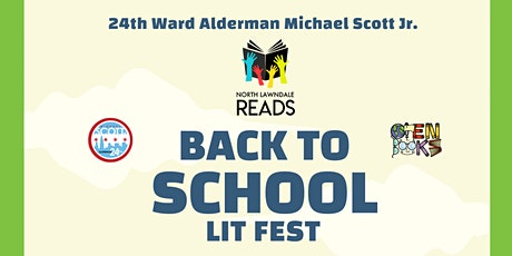 North Lawndale Reads Back To School Lit Fest and Backpack Giveaway! tickets