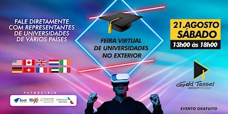 Feira Virtual de Universidades no Exterior ingressos