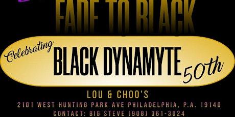 Set it off with Black Dynamyte. tickets