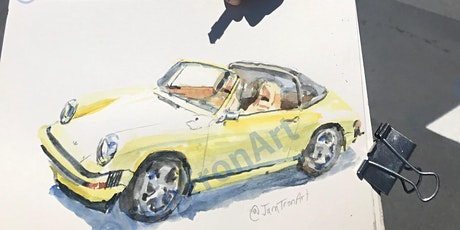 Urban Sketching: How to Sketch Cars and Trucks Live Virtual Class tickets
