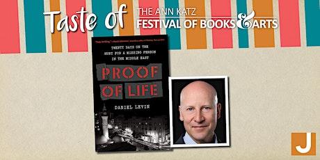 Virtual Taste of the Ann Katz Festival: Daniel Levin tickets