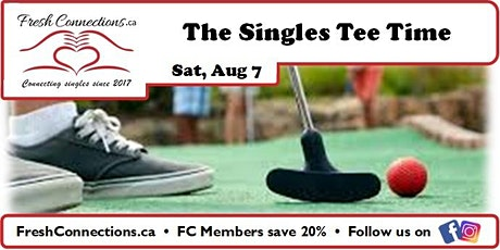 The Singles Tee Time tickets