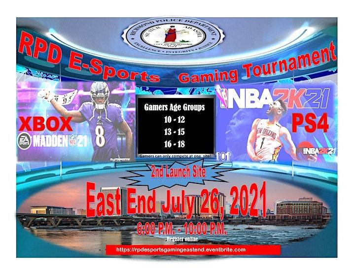 RPD E-Sports  Gaming Tournament image