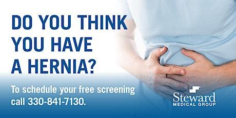 Steward Medical Group Hernia Screening tickets