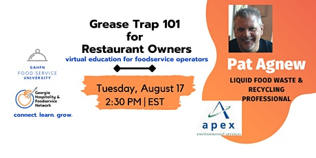 Grease Trap 101 for Restaurants tickets