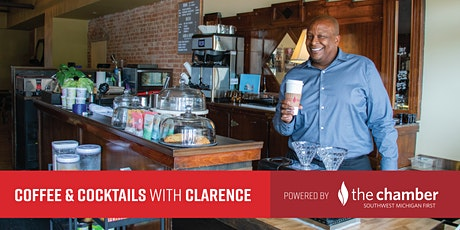 Coffee & Cocktails with Clarence tickets