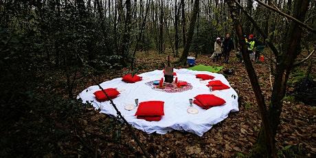 Tente rouge du jeudi 12 Aout à St Malo de Phily, facilitée par Gabrielle billets
