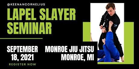 Keenan Cornelius Seminar | Monroe, MI | Monroe Jiu Jitsu tickets