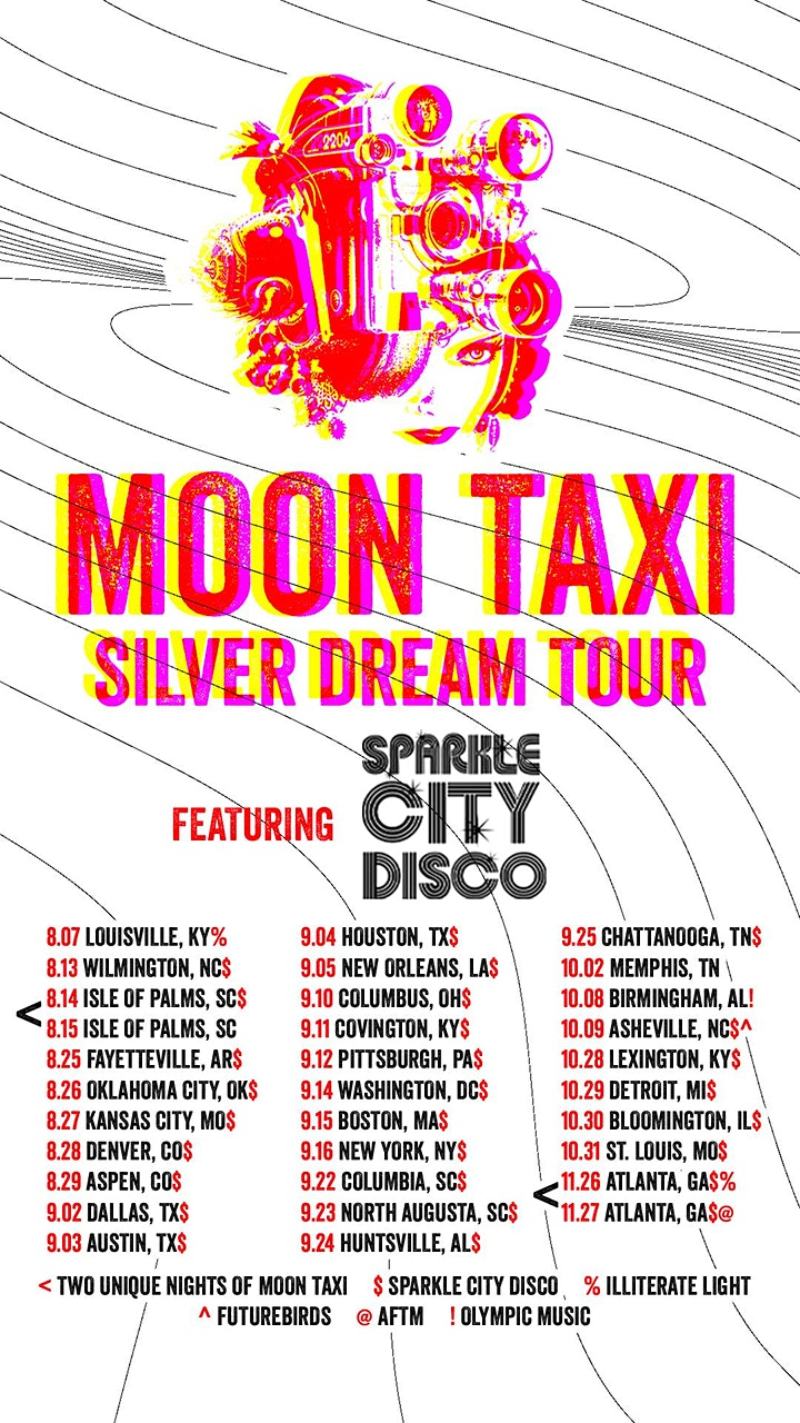 MOON TAXI with special guests Sparkle City Disco image