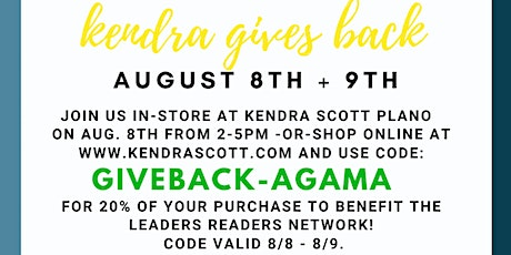 Kendra Scott x Leaders Readers Network In-Store Event tickets