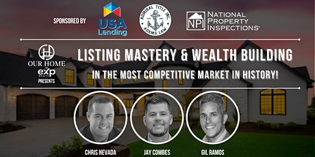 Our Home Listing Mastery & Wealth Building tickets
