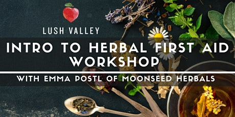 Intro to Herbal First Aid Workshop tickets