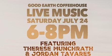 Live Music featuring Therese Munchrath & Jordon Tavares tickets