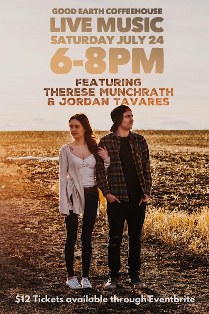 Live Music featuring Therese Munchrath & Jordon Tavares image