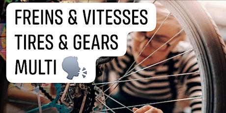 Repair Tires & Gears - Réparer Pneus & Vitesses - Multi language tickets