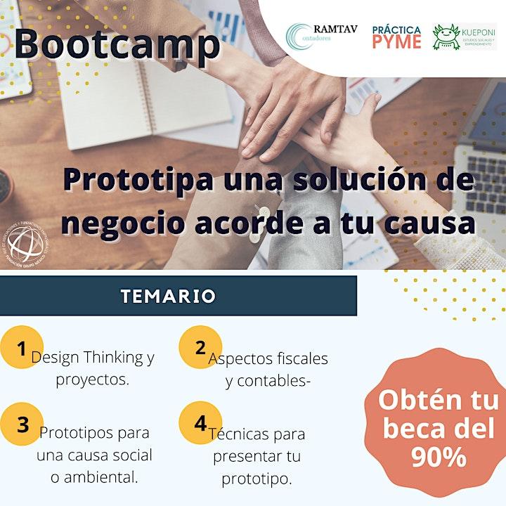 Imagen de Pre registro -Bootcamp: Prototipa una solución de negocio acorde a tu causa