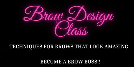 BROW SHAPING, TINT, FILLING & LAMINATION CLASS tickets