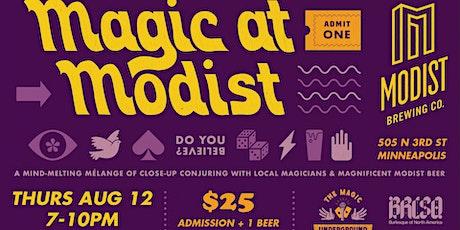 Magic at Modist tickets