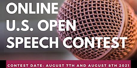 U.S. Open Speech Contest Online biglietti