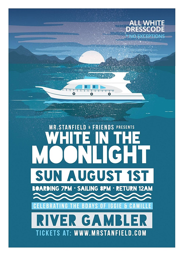 White In The Moonlight Boatride image