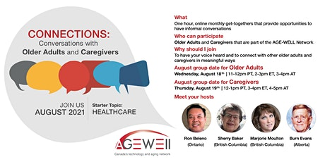 Connections: Conversations with Older Adults and Caregivers tickets