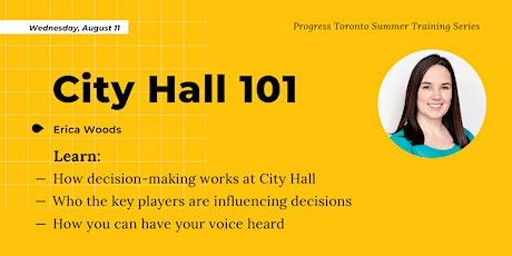 Summer Training Series: City Hall 101 tickets