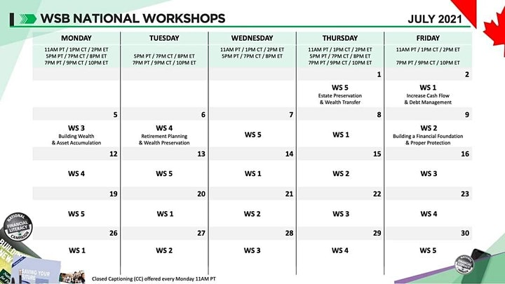 Financial Education Workshop-Daily Event image