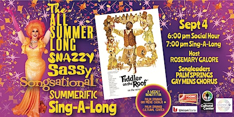SUMMER SING-A-LONG: FIDDLER ON THE ROOF tickets