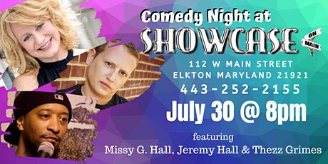 Comedy Night at Showcase On Main tickets