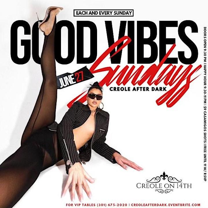 Goodvibes Sundays at Creole image