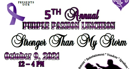 5th Annual Purple Passion Luncheon tickets