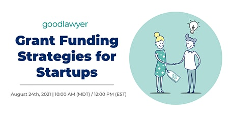 Grant Funding Strategies for Startups tickets
