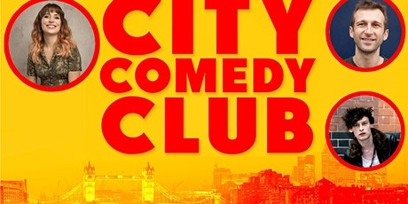 CITY COMEDY CLUB: 13 AUGUST tickets