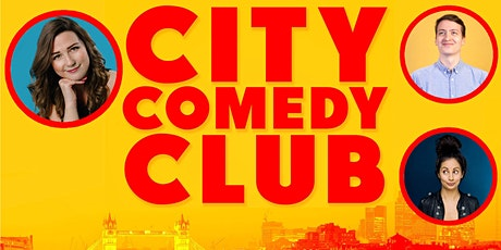 CITY COMEDY CLUB: 26 AUGUST tickets