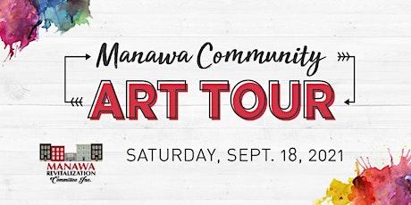 Manawa Community Art Tour tickets