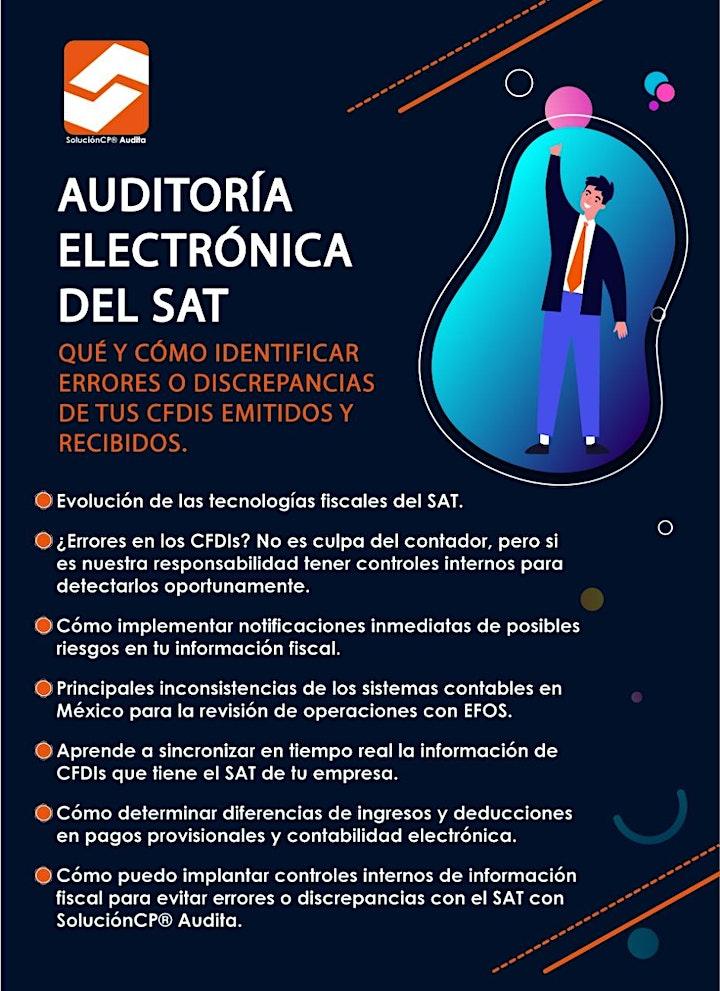 Imagen de Auditoría Electrónica del SAT