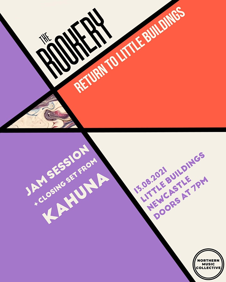 The Rookery: Live Gig & Jam Session (Pay What You Want) image