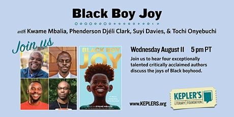 Kwame Mbalia, Phenderson Djéli Clark, Suyi Davies, & Tochi Onyebuchi tickets