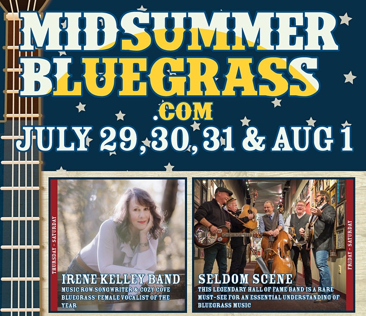 Bluegrass Festival: 32nd Annual MidSummer Bluegrass Festival image