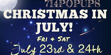 714 POP UPS Christmas in July Shopping Event tickets