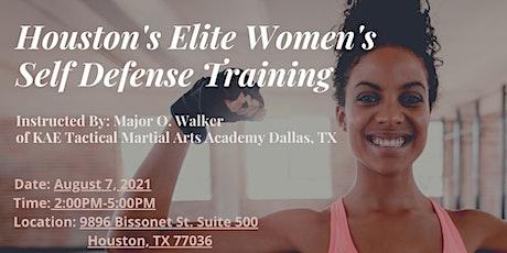 Houston's Elite Women's Self Defense Training tickets