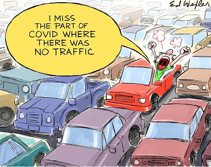 Tired of Traffic?  Let's Explore Better Ways to Get Around! image