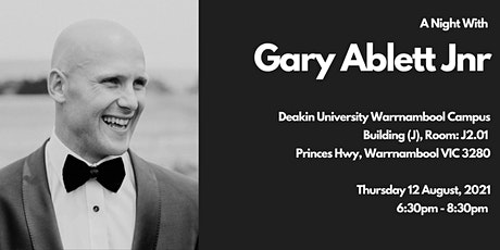 A Night with Gary Ablett Jnr in Warrnambool tickets