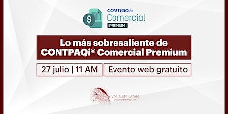 Mejoras de Comercial Premium CONTPAQi ®️ boletos