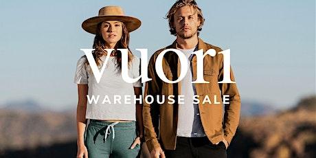 Vuori Warehouse Sale - Santa Ana, CA tickets