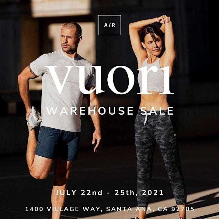 Vuori Warehouse Sale - Santa Ana, CA image